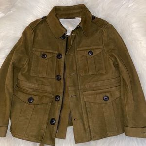 Burberry suede jacket